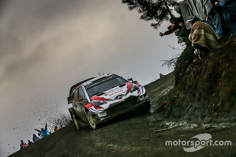 Chile WRC: Tanak leads Ogier after tough first morning