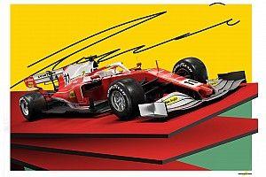 Érdekel, hogy nézne ki az idei Ferrari 70-es évekbeli festéssel?