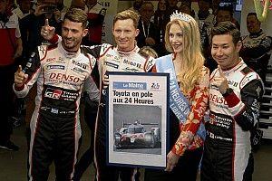 Toyota выиграла квалификацию в Ле-Мане, экипаж Алонсо стартует вторым