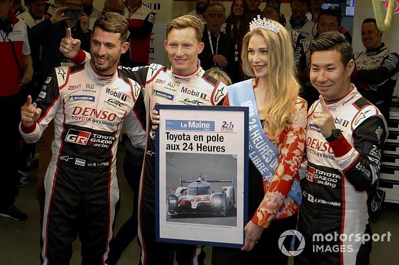 Qualifying Le Mans Toyota Sichert Sich Die Pole Position