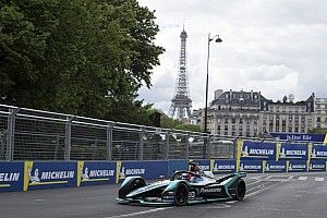 Paris E-Prix: Evans leads incident-strewn practices