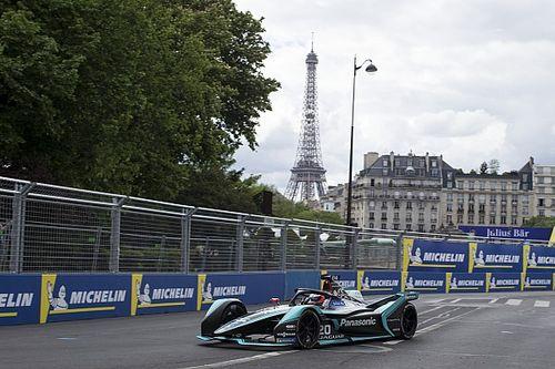 Paris E-Prix: Bol olaylı antrenmanların en hızlısı Evans