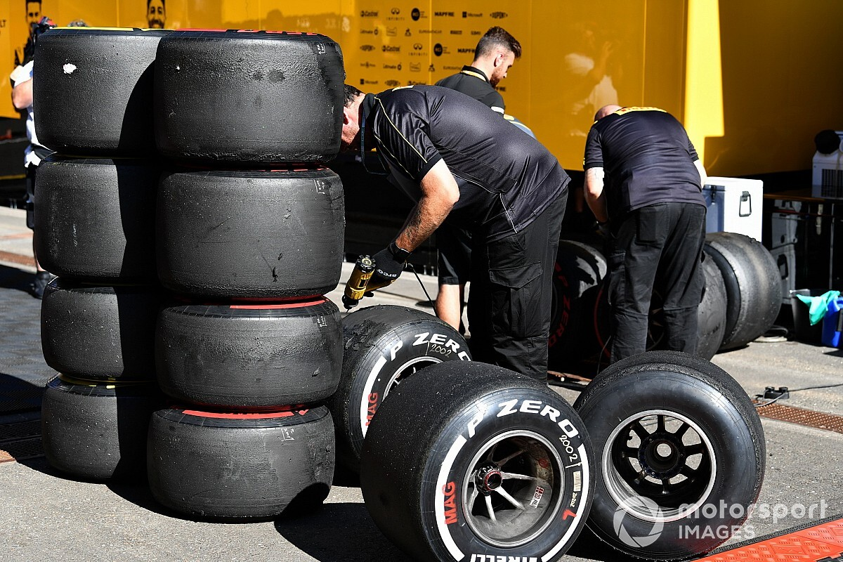 German GP tyre selections announced