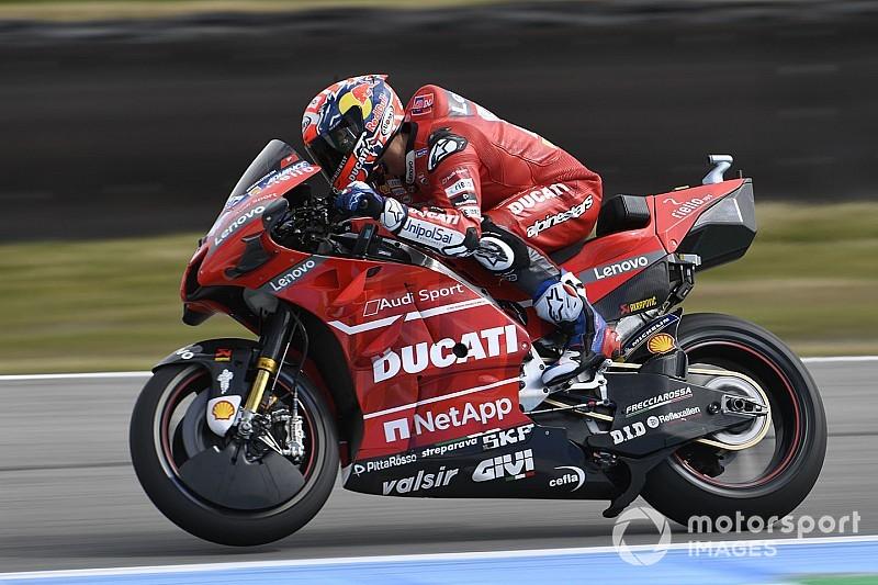 Ducati опробовала в Ассене байк с углепластиковой рамой – но пока не увидела существенного преимущества