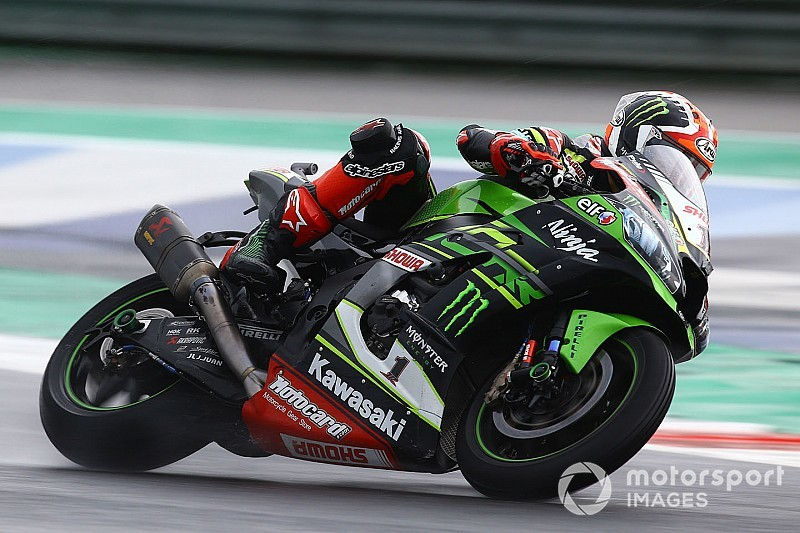 WSBK Donington: Rea domineert in de regen, Van der Mark P8