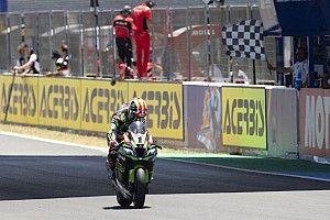 Rea, sancionado en Jerez por provocar la caída de Lowes