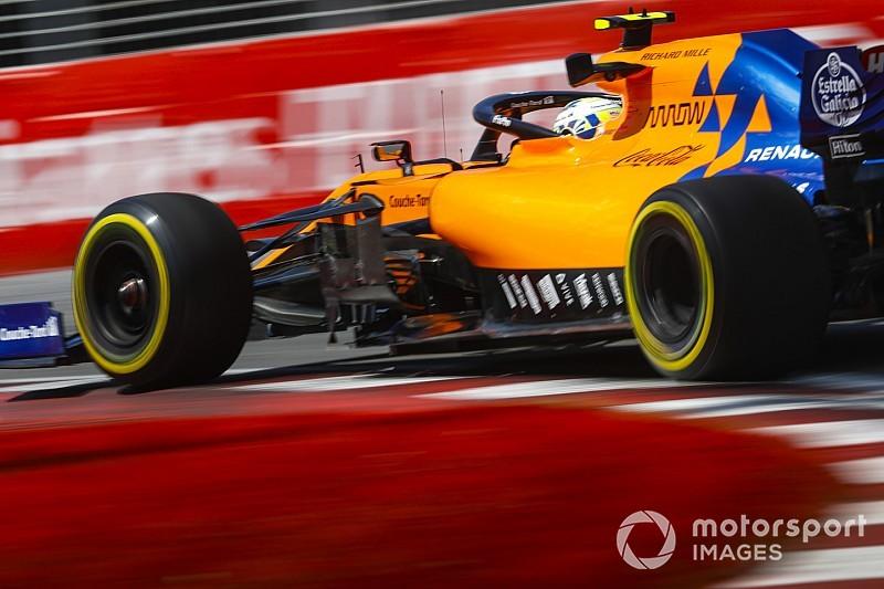 В McLaren объяснили пятничную скорость в Монреале экспериментами с машиной