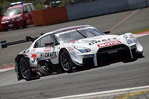 GT500のQ2で2台がコース外走行により該当タイム抹消、3号車GT-Rが8番手に