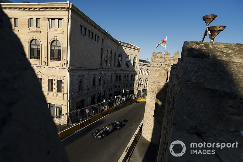 Live: Follow the Azerbaijan GP as it happens