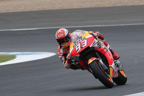 MotoGP, Jerez, Warm-Up: Marquez al top nonostante un problema, Rossi 15esimo