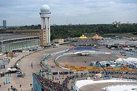 Trzy warianty toru Tempelhof