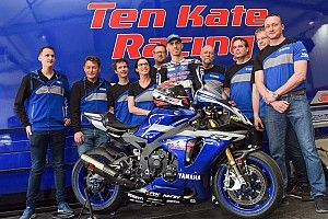 Superbike, Ten Kate svela la Yamaha con cui tornerà nel Mondiale da Jerez