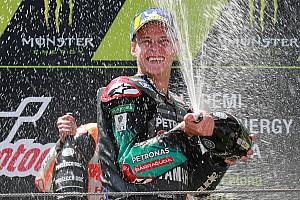 "Un premier podium ""incroyable"" pour Fabio Quartararo"