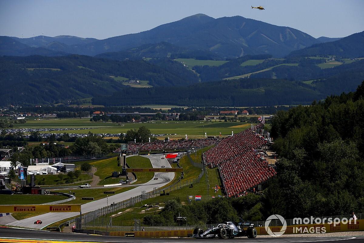 Red Bull Ring ligt op koers voor start van F1-seizoen in juli