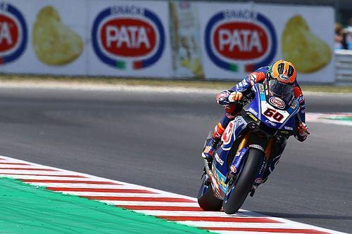 Yamaha-teambaas geschrokken van crash Van der Mark