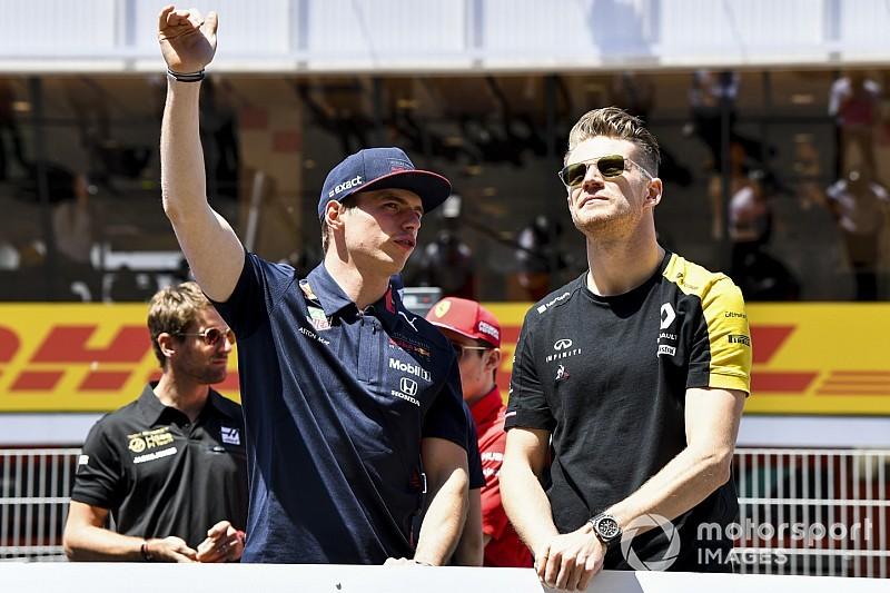 Hülkenbergnek nem tűnt fel, hogy Verstappen lenne az F1 legjobbja