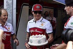 Räikkönen tortája a 300. F1-es versenyhétvégéjére