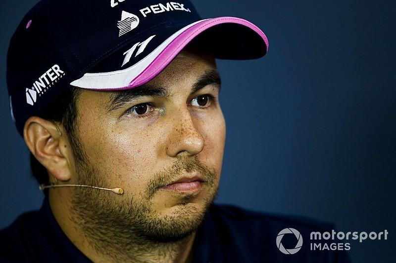 """Pérez: no haber penalizado a Verstappen debe ser """"un antecedente"""""""