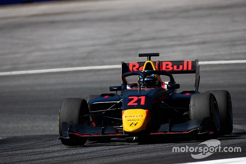 Juri Vips, intratable en el Red Bull Ring