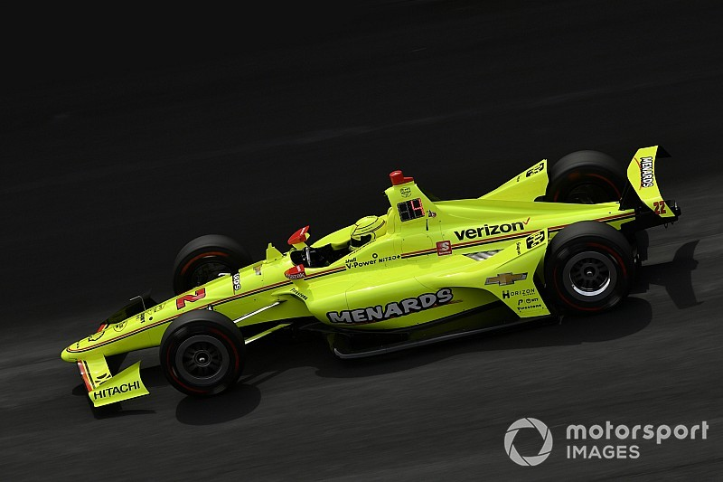 Indy 500: Pagenaud wins pole for Penske