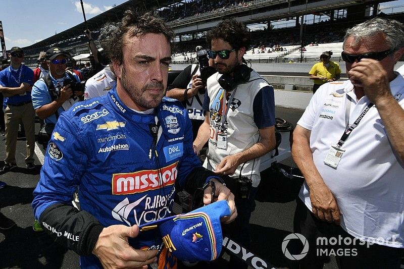 """Alonso: """"I prefer to be here, even 34th, than being at home"""""""