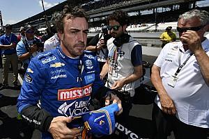 """Alonso: """"Je préfère être à Indy, même 34e, qu'à la maison"""""""