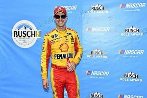 Joey Logano beats Almirola for Michigan Cup pole