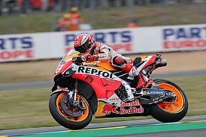 Le Mans MotoGP: Marquez, düşmesine rağmen pole pozisyonunda