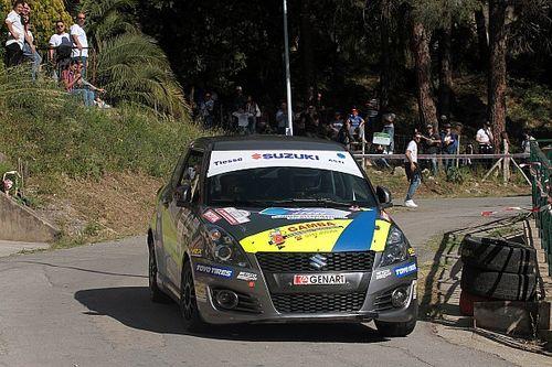 La Suzuki Rally Cup dà spettacolo alla Targa Florio: vince Emanuele Rosso