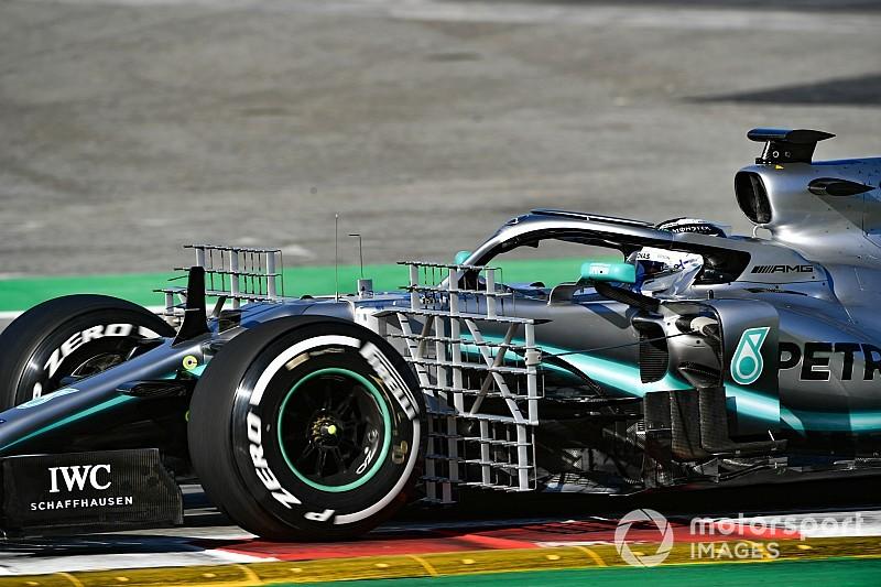 A Mercedes kegyetlen F1-es fejlesztései: animáció