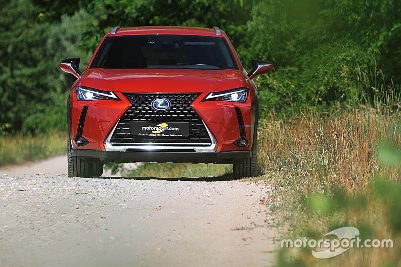 Lexus UX: тест-драйв найновішого кросовера бренду