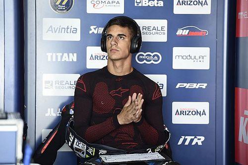 Avintia anuncia que baja de la moto a Vicente Pérez
