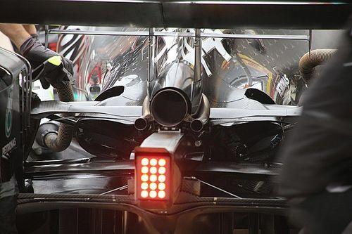 Mercedes: più efficienza nel retrotreno e più carico nell'anteriore della W10