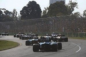 Russell only saw Australian GP start lights through reflection