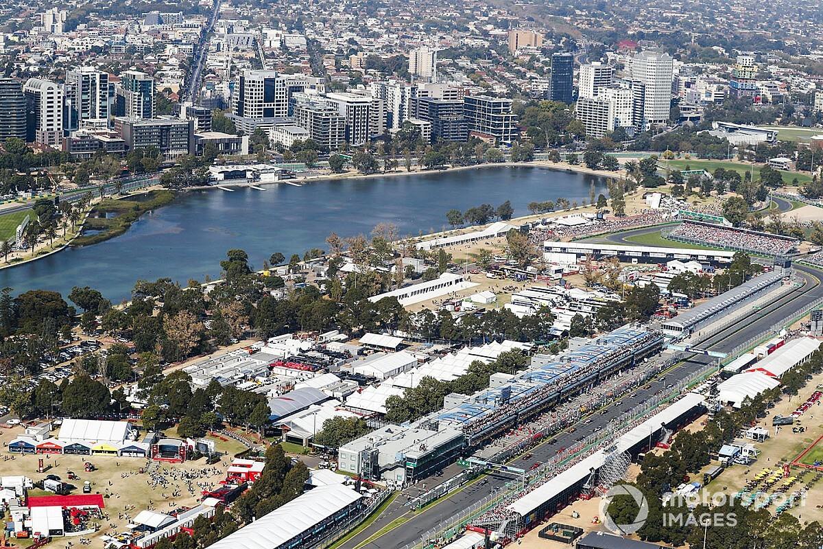 F1, Avustralya'daki yangını yakından takip ediyor