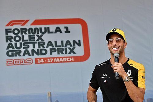 Ricciardo Avustralya GP etkinliklerine katılımını azaltacak