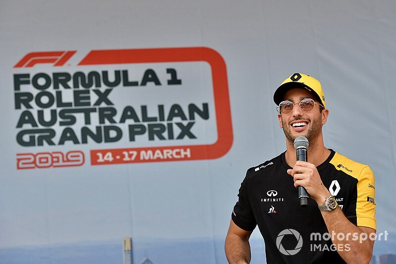 Ricciardo confirms plan to avoid Australian GP burn-out