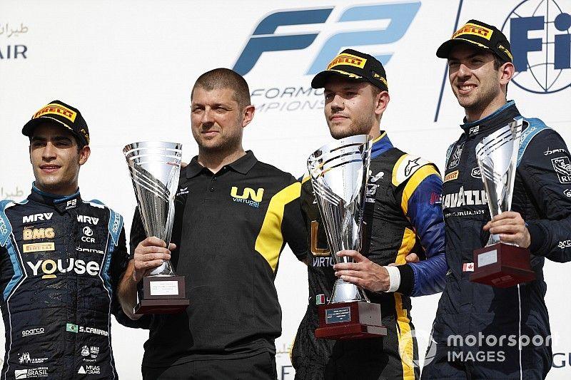 Ghiotto se luce en la segunda carrera de la F2 en Bahréin