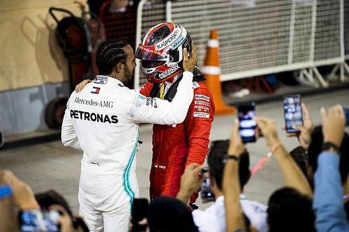 """Hamilton kiintett Leclerc-nek, amikor elment mellette: """"Furcsa érzés volt"""""""