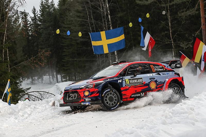 Невилль стал быстрейшим на тестовом участке Ралли Швеция