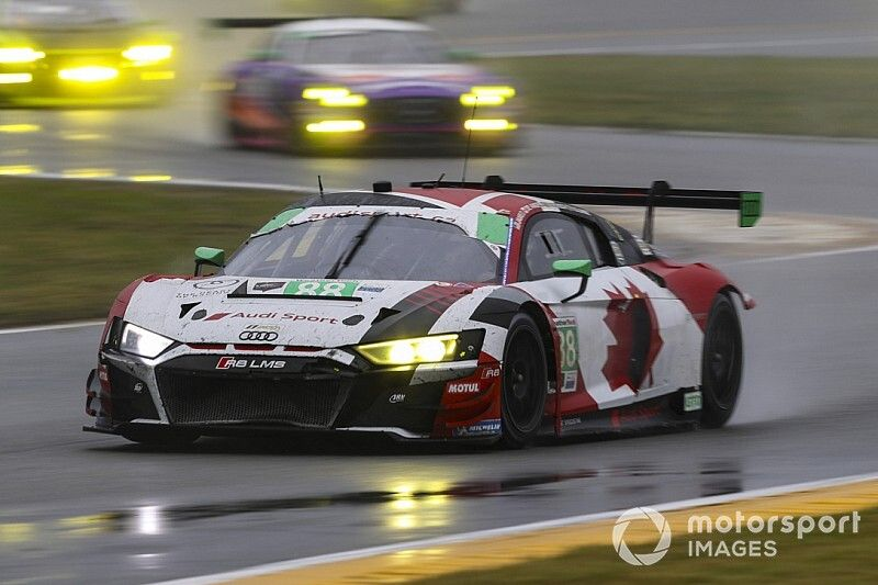 Bortolotti comincia l'avventura in Audi con la 24h di Daytona