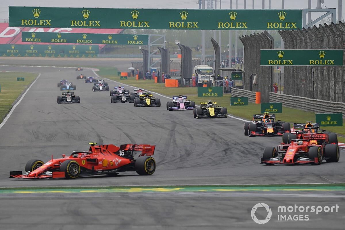 La F1 ha propuesto a Shanghai celebrar dos carreras