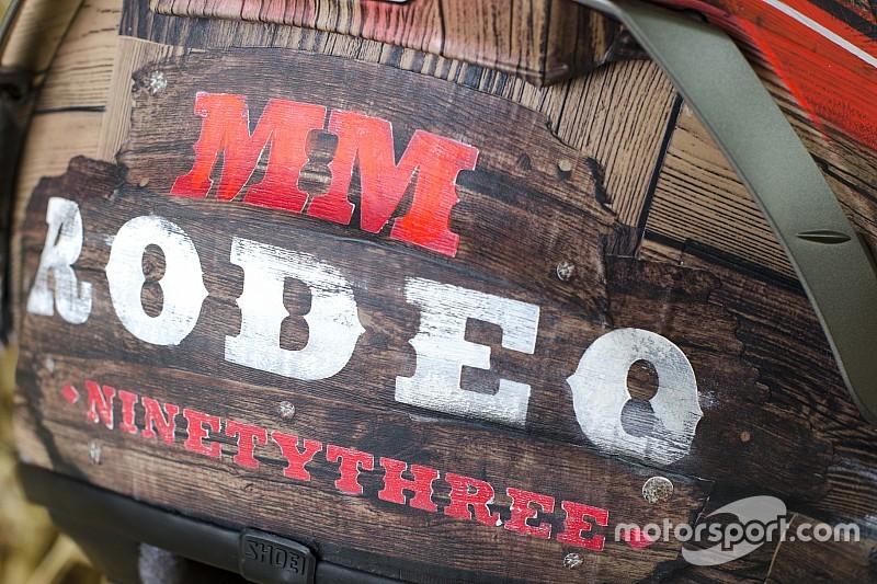Marquez prepara un casco speciale ispirato al rodeo per Austin