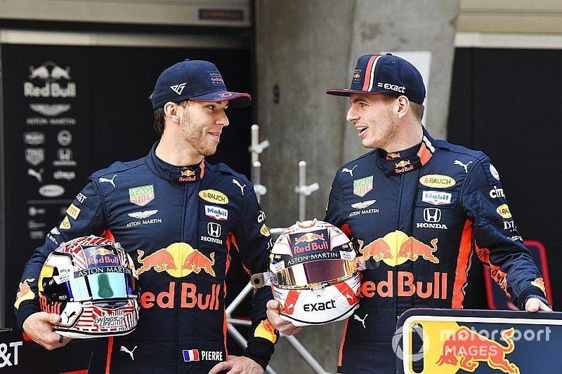 """Verstappen explains """"quite normal"""" Gasly Q3 block"""