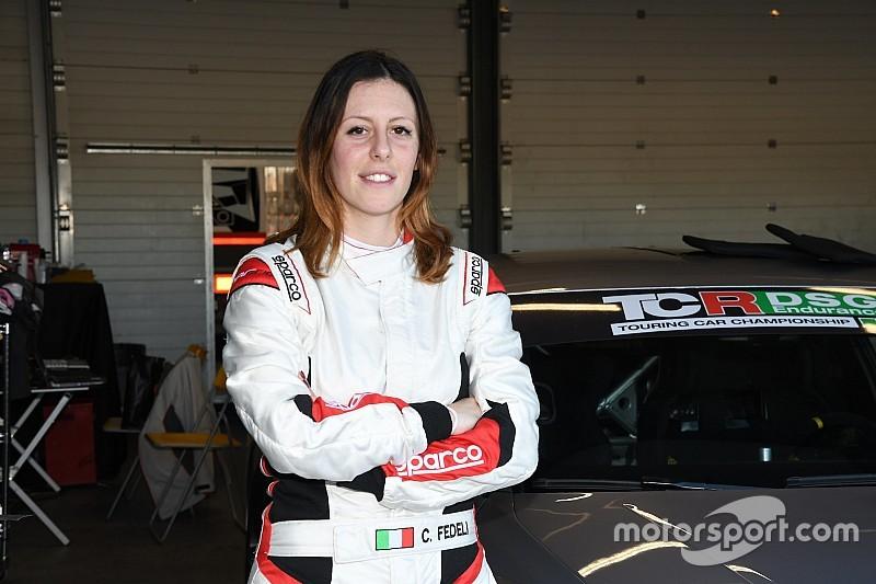 Test al Paul Ricard con la Lamborghini per Carlotta Fedeli