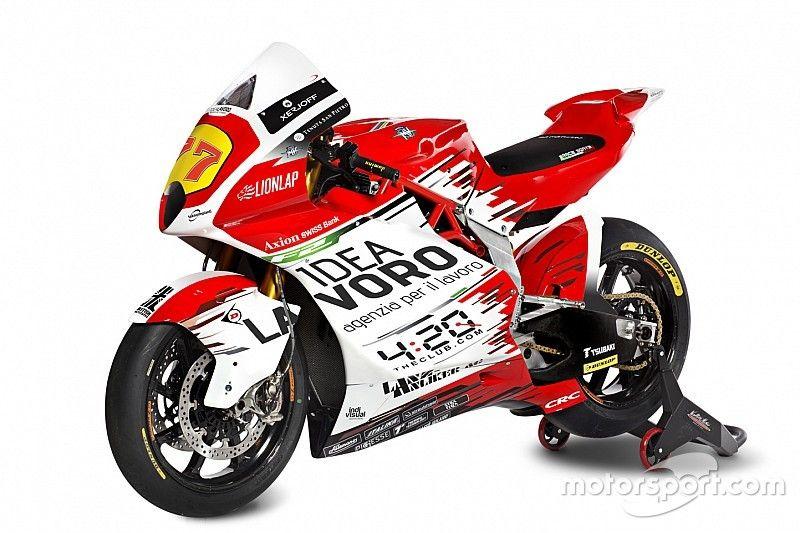 MV Agusta presenta la moto con la que vuelve a los Grandes Premios