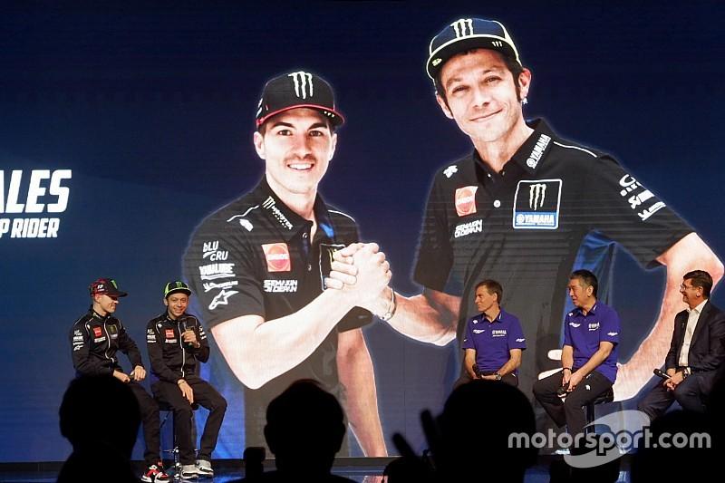 Vídeo: la presentación del equipo Yamaha completa