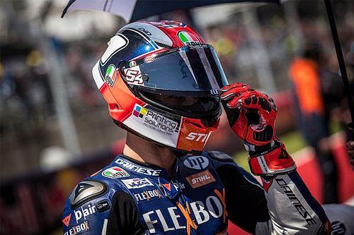 Pasini de nouveau en piste en Moto2 à Jerez