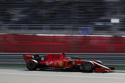 Vettel se salva de una penalización por conducir muy despacio