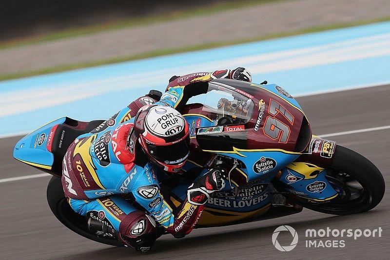 Moto2 Termas de Rio Hondo: Vierge op pole, Bendsneyder zestiende